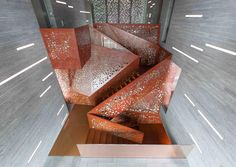 Innovative Copper Stair at Villa Mallorca by ARUP