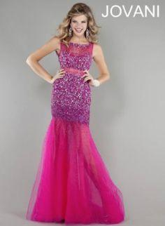 Jovani Designer Dress in Pink