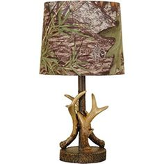 Special Offers - Mossy Oak Deer Antler Accent Lamp Dark Woodtone - In stock & Free Shipping. You can save more money! Check It (July 03 2016 at 01:00AM) >> http://tablelampusa.net/mossy-oak-deer-antler-accent-lamp-dark-woodtone/