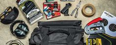 Be prepared when you go to the shooting range with all the right gear to maximize time and keep you on target by building the ultimate shooting range bag. Shooting Range Bag, Outdoor Shooting Range, Edc Tactical, Shooting Targets, Shooting Accessories, Guns And Ammo, Fun Games, Building, Firearms