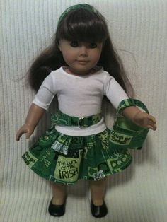 18 inch doll fits American Girl 5 piece St. by peggysprozac