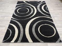 Circles Design Modern Turkish Rug Size: 160 x Turkey Colors, Circle Design, Rug Size, Circles, Modern Design, Rugs, Farmhouse Rugs, Contemporary Design, Rug