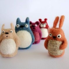 jungle animals needle felted - Google Search