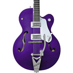 6120 Hot Rod Gretsch Brian Setzer in Galactic Purple