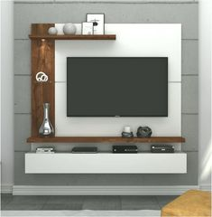 Modern Tv Unit Designs, Living Room Tv Unit Designs, Tv Unit For Bedroom, Bedroom Tv Wall, Tv Unit Interior Design, Tv Unit Furniture Design, Modern Tv Room, Modern Tv Wall Units, Tv Unit Decor