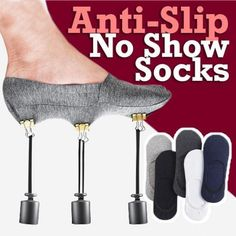 1 Pair Anti-Slip Unisex Silicone No Show Socks Soft Men invisible Socks Invisible Socks, Kids Socks, No Show Socks, Acrylic Colors, Off Colour, Types Of Shoes, Sock Shoes, Strap Heels, Daily Wear