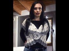 UNCINETTO TUTORIAL: COME FARE UN BOLERO 3 DI 3 - YouTube