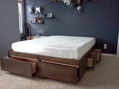 Кровати, которые помогут сэкономить место в спальне 5