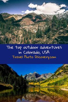 Best places to visit in Colorado - check out the most impressive historic, natural and beautiful places to visit around Colorado now which includes adventure outdoor experiences to see and do in the states most scenic and beautiful landscapes and outdoor venues. Also visit some of the wonderful towns and cities around Colorado and Unesco or national parks around the state.