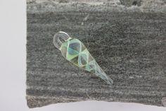Hand Made Lampwork Twist Pendant