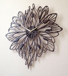 Summer Laser Cut Wood Clock | Home Decor | Sarah Mimo Clocks | Scoutmob Shoppe | Product Detail