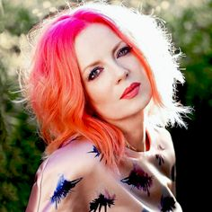 Shirley Manson of Garbage Shot by Joseph Cultice.