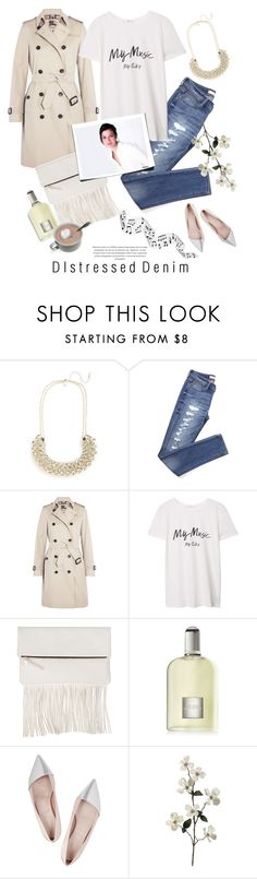 """""""My Music"""" by rever-de-paris ❤ liked on Polyvore featuring Topshop, Burberry, MANGO, Clare V., Tom Ford, Giambattista Valli, women's clothing, women, female and woman"""
