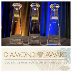 2014 DIAMOND AWARDS | Vanguard University Global Center for Women and Justice