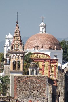 "Cuernavaca, MEXICO.   Cuernavaca is recognized as the ""Beverly Hills of Mexico"". The city is known for its perfect weather and that from any elevation in the city one can see that many of the homes have swimming pools."