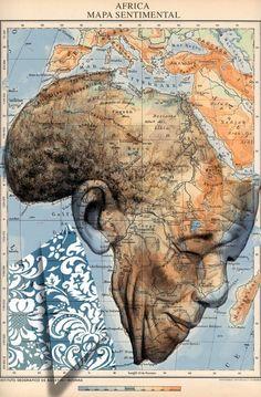 Nelson Mandela, Arte Mandela, African Art, Black Art, Oeuvre D'art, Les Oeuvres, Modern Art, Contemporary Art, Art Boards