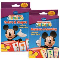 Disney Mickey Mouse Clubhouse Flash Cards  been wanting some new ones, the kids really enjoyed these