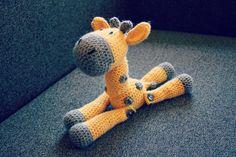 Jerry the Giraffe crochet amigurumi