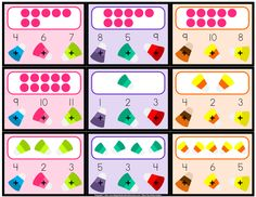 Fall Fun! Candy Corn Number Words & Counting 0-10 Poke Game - FREE