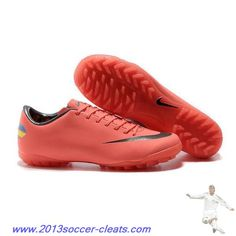 Authentic Nike Mercurial Victory VIII TF Mango Black For Wholesale