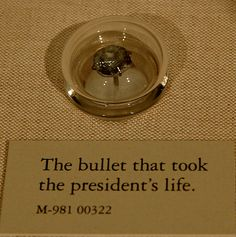 Bullet that killed Lincoln