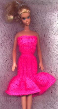 Strapless Evening Gown (