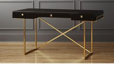 Awesome black rustic desk just on arendecor.com