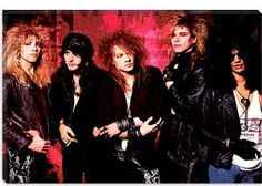 Guns And Roses- bribes, dark alleys, and scary drunks. That's all I have to say about that.