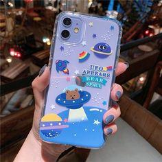 KAWAII CARTOON BEAR CUTE PASTEL PHONE CASE - For iPhone 7 or 8 / style5