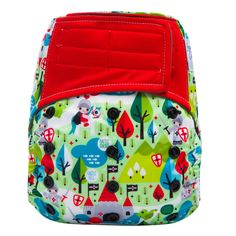 $15.99-16.99 with an added 13.5in. 5 layer charcoal bamboo insert or a 4  layer organic hemp insert.  Features:      * Trim All in One design with adjustable 3x3 rise snaps (X-Small,       Small, Medium, & Large) & adjustable velcro closure, fits babies from       8-35 lbs. Velcro has