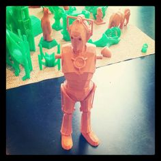 The TIFF bot. 3D printing at TIFF Kids digiPlaySpace. Photo by @MW_Thompson via Twitter