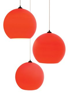15 Best Red Pendant Lighting Images