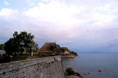 The old castle in Corfu town