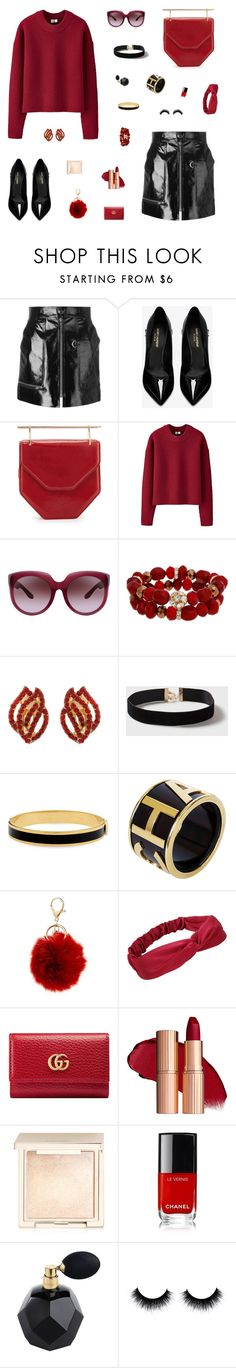 """""""Bound to the Future"""" by belenloperfido ❤ liked on Polyvore featuring Isabel Marant, Yves Saint Laurent, Uniqlo, Bottega Veneta, Mixit, Dorothy Perkins, Halcyon Days, Chanel, BP. and Gucci"""