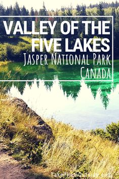 Planning a trip to Jasper National Park? Make sure to visit Valley of the Five Lakes for a lovely hike almost anyone can do and add this to your list of things to see and do while visiting Jasper Jasper National Park, Banff National Park, National Parks, Jasper Hikes, Ski Banff, Camping Near Me, Camping Cabins, Camping Store, Colorado Springs Camping