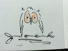 Wee sketch for an owl bogle.