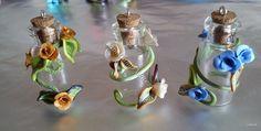tiny potion bottle sun catchers or vase necklace