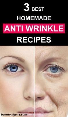 Anti Aging Remedies 3 Best Homemade Anti-Wrinkle Recipes - Today we will teach you how to end those wrinkles to look younger. Our skin becomes dry and suffers from air pollution, the action of the sun or over the Anti Aging Facial, Anti Aging Tips, Best Anti Aging, Anti Aging Cream, Anti Aging Skin Care, Skin Care Regimen, Skin Care Tips, Serum, Cellulite Scrub