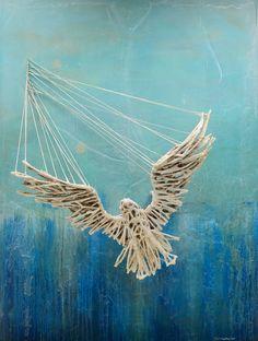 JUSTIN GAFFREY-MS36X16X48-2015-004Justin Gaffrey painting sculpture.jpg