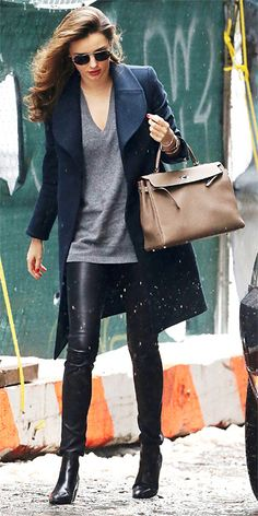 Look of the Day - January 7, 2014 - Miranda Kerr #InStyle