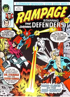 Rampage #9, Defenders vs the Red Ghost