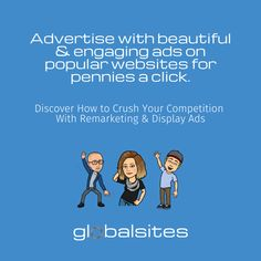 Get More Traffic & Qualified Leads for Less Money! Advertise with beautiful & engaging ads on popular websites for pennies a click.