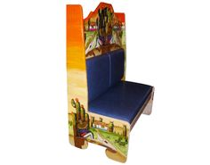 Booth Sentado en cerrito.  Descripción: Diseño: Sentado en cerrito Color: Diseño Asiento: Vinil azul  2 Personas