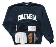 """""""relax"""" by sporty-prep ❤ liked on Polyvore featuring Columbia, NIKE, TravelSmith and Maybelline"""