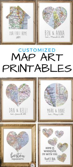 Love these clever customized prints! What a great wedding gift idea! #instantdownload #printables #ad #etsy