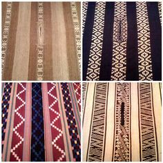examples ofMapuche weaving