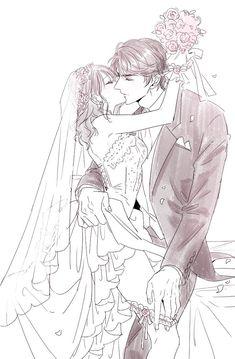 Arigato Gozaimasu, Manga Anime, Anime Art, Mysterious Girl, Couple Cartoon, Manga Pages, Drawing Poses, Couple Art, Love Is Sweet
