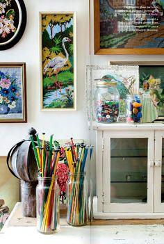 Penelope Durston    Mollie Makes Magazine https://www.facebook.com/pages/Tante-Brocante-en-De-Dames-Van-Dale/110046885761851