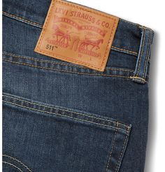 A spin-off collection from the original denim giant, <a href='http://www.mrporter.com/mens/Designers/Levis_501_CT_Jeans'>Levi's 501 CT Jeans</a>' tapers its designs for an exacting cut. This '511' style has a modern, slim fit with room to move so it's perfect to wear daily. Every wardrobe needs a good pair of blue jeans and the indigo wash of these is a classic. Wear them with a checked shirt and lace-up boots.