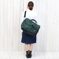 SOUTH2 WEST8 (サウス2 ウェスト8)『18oz Canvas La Crosse Briefcase』(Hunter Green)をReggieshopにて販売中